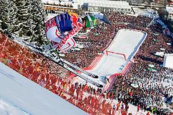 22.01.2011, Hahnenkamm, Kitzbuehel, AUT, FIS World Cup Ski Alpin, Men, Downhill, im Bild // Klaus Kroell (AUT) // during the men downhill race at the FIS Alpine skiing World cup in Kitzbuehel, EXPA Pictures © 2011, PhotoCredit: EXPA/ S. Zangrando