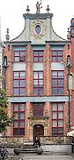 Gdańsk (woj. pomorskie) 18.07.2016. Kamieniczka przy ulicy Długiej w Gdańsku