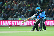 Worcestershire Rapids Joe Clarke during the final of the Vitality T20 Finals Day 2018 match between Worcestershire rapids and Sussex Sharks at Edgbaston, Birmingham, United Kingdom on 15 September 2018.