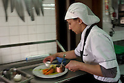 One of the cooker of São Giao Restaurant. The S Giao is one of the best restaurant in the area of Guimarães.