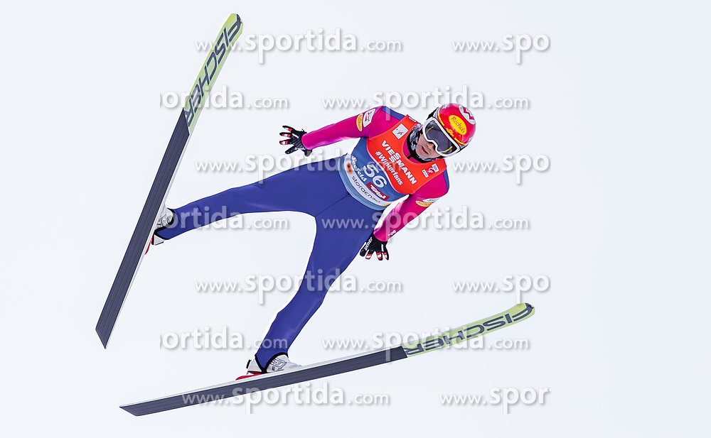 28.02.2019, Seefeld, AUT, FIS Weltmeisterschaften Ski Nordisch, Seefeld 2019, Nordische Kombination, Skisprung, im Bild Mario Seidl (AUT) // Mario Seidl of Austria during the Ski Jumping competition for Nordic Combined of FIS Nordic Ski World Championships 2019. Seefeld, Austria on 2019/02/28. EXPA Pictures © 2019, PhotoCredit: EXPA/ JFK