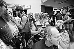Everybody's Talking, Sturgis, SD. 1991<br /> <br /> Limited Edition Print from an edition of 50. Photo ©1991 Michael Lichter.
