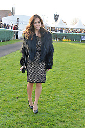 MYLEENE KLASS at the 2013 Hennessy Gold Cup at Newbury Racecourse, Berkshire on 30th November 2013.