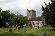Norman Church of the Nativity of the Blessed Virgin Mary in Studley, Warwickshire, England, United Kingdom.