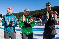 After Men 15 km Mass Start at day 4 of IBU Biathlon World Cup 2015/16 Pokljuka, on December 20, 2015 in Rudno polje, Pokljuka, Slovenia. Photo by Urban Urbanc / Sportida