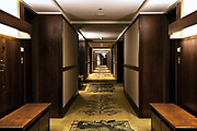 Hotel hallway, Alyeska Lodge,