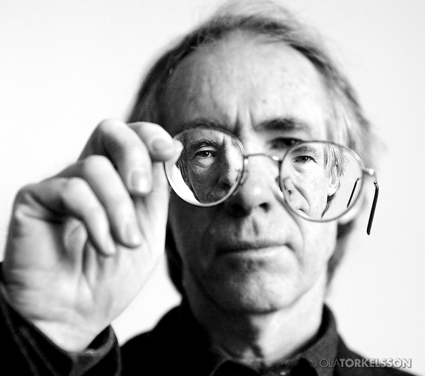 Ian McEwan, author.<br /> Photo Ola Torkelsson ©