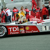 #1 Audi R10 TDI - Audi Sport North America (Drivers - Frank Biela, Marco Werner and Emanuele Pirro) LMP1, Le Mans 24Hr 2007