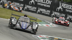 May 11, 2019 - Monza, MB, Italy - DRAGONSPEED (Hedman, Van Der Zande and Allen) at high speed Ascari chicane in Monza during Free Practice Session 2 of ELMS italian round. (Credit Image: © Riccardo Righetti/ZUMA Wire)