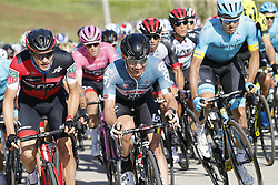 May 9, 2018 - Santa Ninfa, ITALY - Belgian Victor Campenaerts of Lotto Soudal pictured in action during stage 5 of the 101st edition of the Giro D'Italia cycling tour, 153km from Agrigento to Santa Ninfa (Valle del Belice), Italy, Wednesday 09 May 2018...BELGA PHOTO YUZURU SUNADA FRANCE OUT (Credit Image: © Yuzuru Sunada/Belga via ZUMA Press)