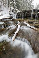 au train falls,au train,michigan,upper peninsula,waterfall,snow,winter,vertical,munising,winter waterfall