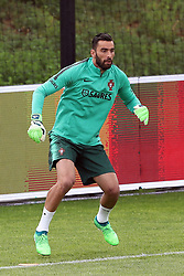 May 30, 2018 - Oeiras, Portugal - Portugal's goalkeeper Rui Patricio in action during a training session at Cidade do Futebol (Football City) training camp in Oeiras, outskirts of Lisbon, on May 30, 2018, ahead of the FIFA World Cup Russia 2018 preparation matches against Belgium and Algeria...........during the Portuguese League football match Sporting CP vs Vitoria Guimaraes at Alvadade stadium in Lisbon on March 5, 2017. Photo: Pedro Fiuzaduring the Portugal Cup Final football match CD Aves vs Sporting CP at the Jamor stadium in Oeiras, outskirts of Lisbon, on May 20, 2015. (Credit Image: © Pedro Fiuza via ZUMA Wire)