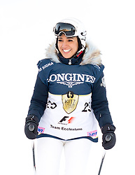 21.01.2017, Hahnenkamm, Kitzbühel, AUT, FIS Weltcup Ski Alpin, KitzCharity Trophy, im Bild Fabiana Ecclestone (F1 Team Ecclestone) // during the KitzCharity Trophy of FIS Ski Alpine World Cup at the Hahnenkamm in Kitzbühel, Austria on 2017/01/21. EXPA Pictures © 2017, PhotoCredit: EXPA/ Serbastian Pucher