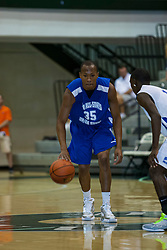 23 June 2012: Austin Stewart.  Illinois Basketball Coaches Association (IBCA) All Star game at Shirk Center, Illinois Wesleyan, Bloomington, IL