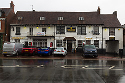 The George and Dragon in Westerham, Kent, managed by landlord Patrick Tranter who was involved in a head-on collision with a Range Rover carrying Brexit Party Leader Nigel Farage. Westerham, Kent, May 09 2019.