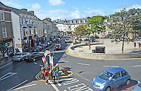 The Diamond, Donegal Town, Co Donegal, Rep of Ireland, August, 2014, 201408183592<br /> <br /> Copyright Image from Victor Patterson, 54 Dorchester Park, Belfast, UK, BT9 6RJ<br /> <br /> t: +44 28 9066 1296<br /> m: +44 7802 353836<br /> vm +44 20 8816 7153<br /> <br /> e1: victorpatterson@me.com<br /> e2: victorpatterson@gmail.com<br /> <br /> www.victorpatterson.com<br /> <br /> IMPORTANT: Please see my Terms and Conditions of Use at www.victorpatterson.com