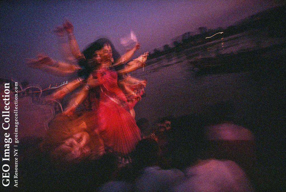 Hindus celebrate Durga Puja at Waisghat, in the heart of old Dhaka.
