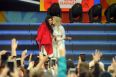 Halsey performs during ABC's 'Good Morning America' 2 June 2018