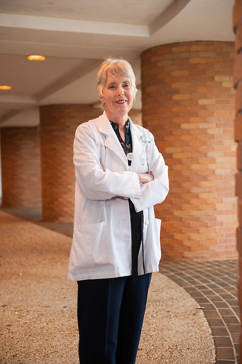 Kathy Lattavo is a surgical nurse at St. David's Hospital in Austin, Texas. ( 4/2/15) photo by Mark Matson