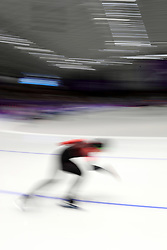February 18, 2018 - Gangneung, South Korea -  HEATHER MCLEAN of Canada during Speed Skating: Ladies' 500m at Gangneung Oval at the 2018 Pyeongchang Winter Olympic Games. (Credit Image: © Scott Mc Kiernan via ZUMA Wire)