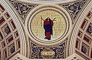 "Pennsylvania Capitol Rotunda. ""Justice"" by Edwin Abbey, Harrisburg, Pennsylvania"