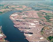 "ackroyd_C07105-09. ""Port of Portland. stock. July 22, 1988"" (old Oregon Shipyard site, St. Johns, DEQ Site ID 2355, International Terminals, North Burgard Industrial Park, Old Oregon Shipyard, Schnitzer Burgard Industrial Park)"