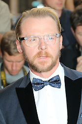 Simon Pegg, GQ Men of the Year Awards, Royal Opera House, London UK, 03 September 2013, (Photo by Richard Goldschmidt)