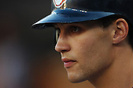 COPYRIGHT DAVID RICHARD.Grady Sizemore of the Cleveland Indians..Cleveland Indians at Detroit Tigers, July 4, 2007