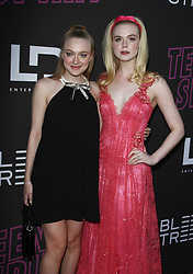 Teen Spirit Special Screening at The Arclight Cinemas in Hollywood on 04/02/2019. 02 Apr 2019 Pictured: Agnieszka Grochowska, Elle Fanning. Photo credit: River / MEGA TheMegaAgency.com +1 888 505 6342