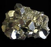 Group of modified dodecahedral crystals Huansala, dep. Huanuco, Peru