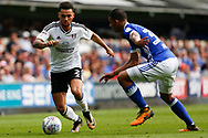 Fulham defender Ryan Fredericks (2) runs forward during the EFL Sky Bet Championship match between Ipswich Town and Fulham at Portman Road, Ipswich, England on 26 August 2017. Photo by Phil Chaplin.