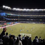 A general view of Yankee Stadium, home of New York City FC, during the New York City FC Vs Sporting Kansas City, MSL regular season football match at Yankee Stadium, The Bronx, New York,  USA. 27th March 2015. Photo Tim Clayton