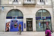 Frankrijk, France, Dole, 21-5-2018Filiaal van de bank cc in een provinciestad. Foto: Flip Franssen