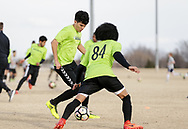January 26, 2018: OKC Energy FC holds an open combine at Edmond Soccer Club in Edmond, Oklahoma.
