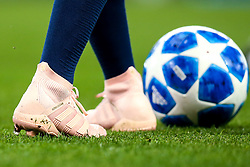 The boots of Ilkay Gundogan of Manchester City - Mandatory by-line: Robbie Stephenson/JMP - 19/09/2018 - FOOTBALL - Etihad Stadium - Manchester, England - Manchester City v Lyon - UEFA Champions League Group F