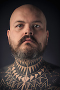 Portraits taken at the Icelandic Tattoo Expo 2013 in Reykjavik, Iceland. September 15, 2013. Copyright © 2013 Matthew Eisman. All Rights Reserved