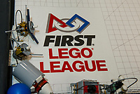19 Teams compete during the First Lego League Competition held at Gilford Middle School on Saturday.  (Karen Bobotas/for the Laconia Daily Sun)