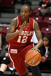 30 January 2015:  Fantasia Vine during an NCAA women's basketball game between the Bradley Braves and the Illinois Sate Redbirds at Redbird Arena in Normal IL