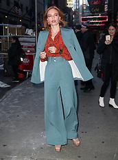 Kate Bosworth at 'Good Morning America' - 07 Dec 2018