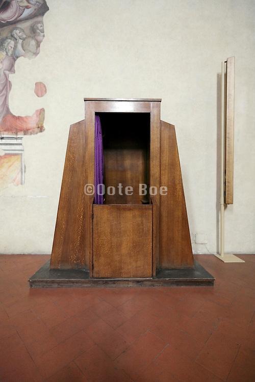 modern design confessional Arezzo Italy