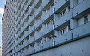 Superjednostka (mrówkowiec) w Katowicach przy alei Wojciecha Korfantego, Polska<br /> One of the largest residential buildings in Poland