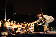 Pavement performs at Summerstage in Rumsey Playfield, Central Park NYC on the Quarantine The Past Tour 2010. September 23, 2010. Copyright © 2010 Matt Eisman. All Rights Reserved.