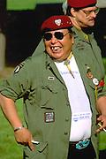 Vietnam veteran age 43 at state Vietnam War Memorial.  St Paul Minnesota USA