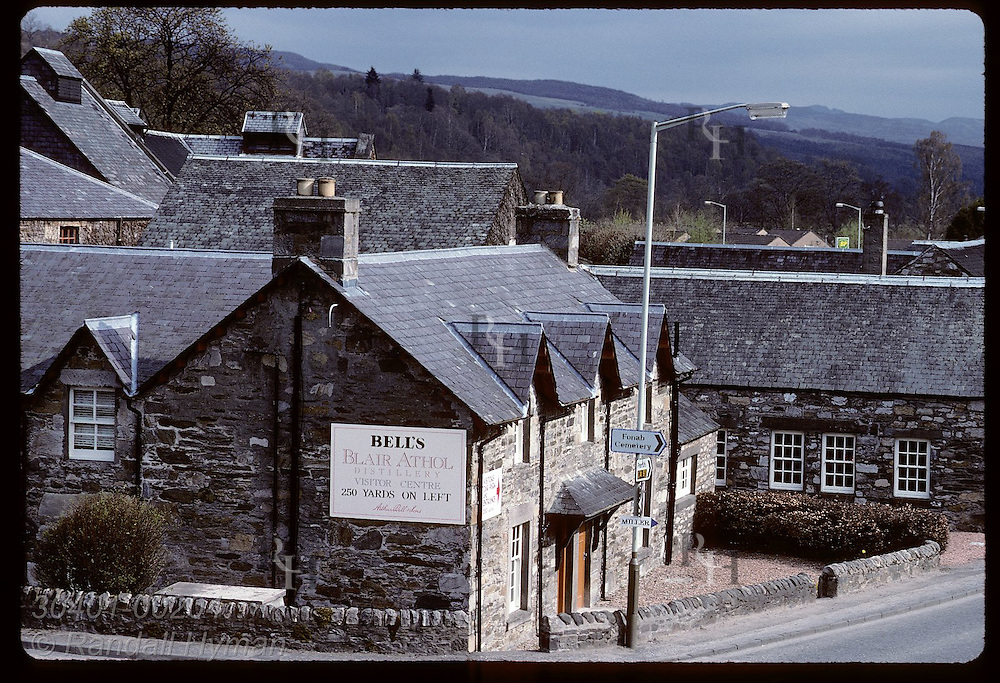 Blair Athol Distillery has produced Scotch whisky for 200 years; Perthshire Highlands, Pitlochry. Scotland