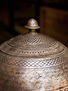 Detail of metal work in the Azem Palace in the Old City in Damascus, Syria
