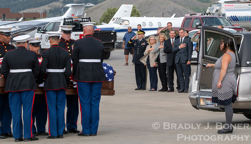 The remains of Marine Corps Lance Cpl. Rylee McCollum, the valley native who was killed along with 12 other U.S. service members by a suicide bomber Aug. 26 in Afghanistan, are brought home to Jackson Hole.