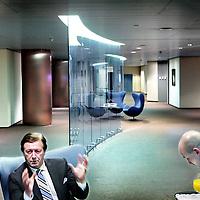 Nederland,Utrecht ,18 januari 2008..Hubertus Heemskerk (Bert) oud-voorzitter raad van bestuur Rabobank Nederland (overleden)