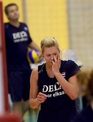 30-09-2014 ITA: World Championship Volleyball Training Nederland, Verona<br /> Laura Dijkema