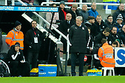 Crystal Palace manager Roy Hodgson looks on during the Premier League match between Newcastle United and Crystal Palace at St. James's Park, Newcastle, England on 21 December 2019.