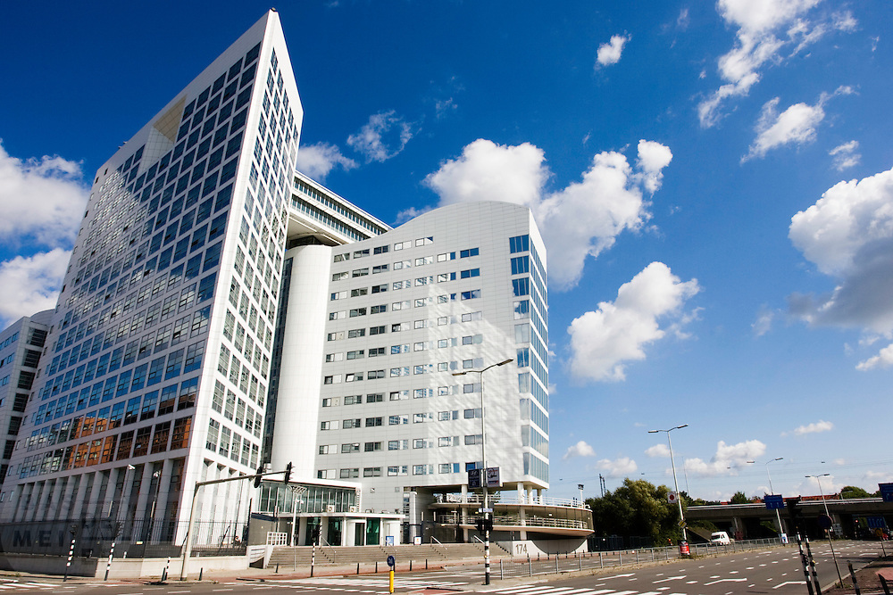Het internationaal strafhof in Den Haag<br /> <br /> International court in The Hague